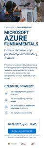 <br>Azure Fundamentals - Firma w chmurze czyli jak stworzyć infrastrukturę w Azure<br>