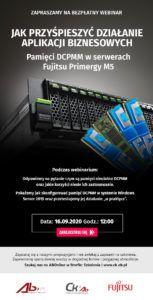 Jak przyśpieszyć działanie aplikacji biznesowych – pamięci DCPMM w serwerach Fujitsu Primergy M5