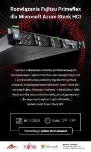 Pokaz klastra hiperkonwergentnego na platformie Fujitsu oraz Microsoft 2019
