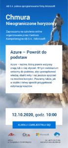 Azure - powrót do podstaw