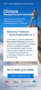 Advanced Technical - Azure Kubernetes Services cz.3